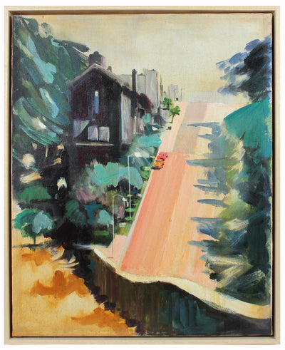 Bay Area City Hill<br>Mid Century Oil<br><br>#A5737