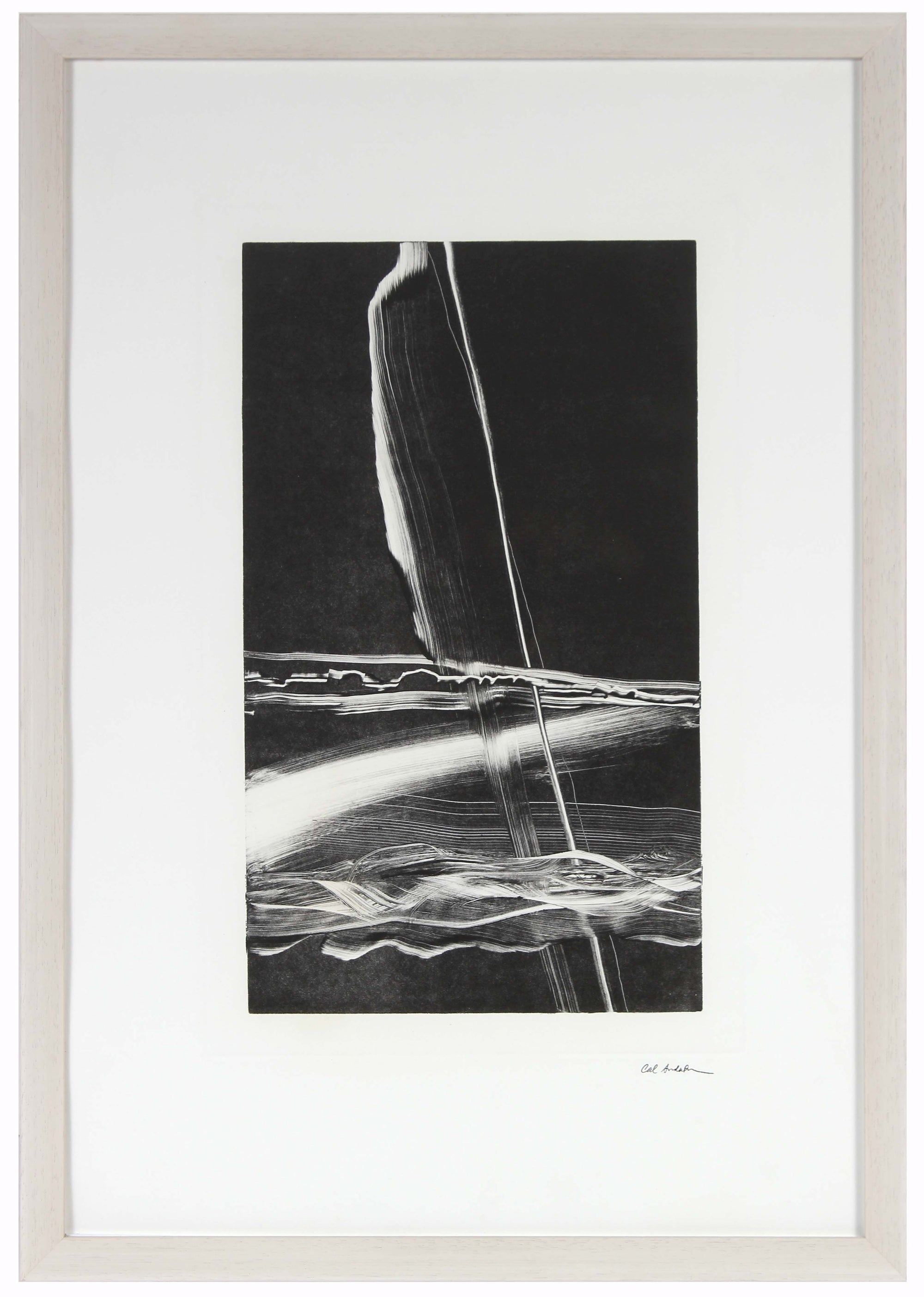 Monochromatic Print<br>Late 20th Century Monotype<br><br>#A6335