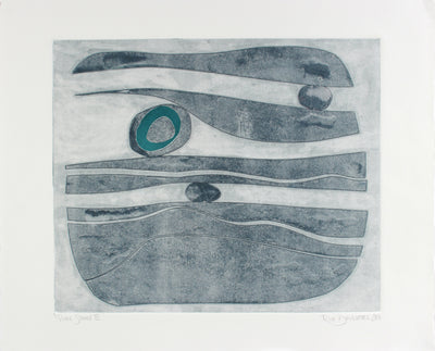 <i>River Stones XI</i> <br>2018 Monotype <br><br>#A7151