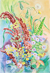 <i>Autumn Array</i> <br>1983 Watercolor <br><br>#A7391