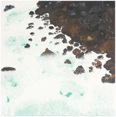 <i>The Point, Hawaii</i> <br>2018 Acrylic <br><br>#A7430