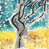 <i>Eucalyptus Tree, Tropical</i> <br>2018-19 Gouache <br><br>#A7436