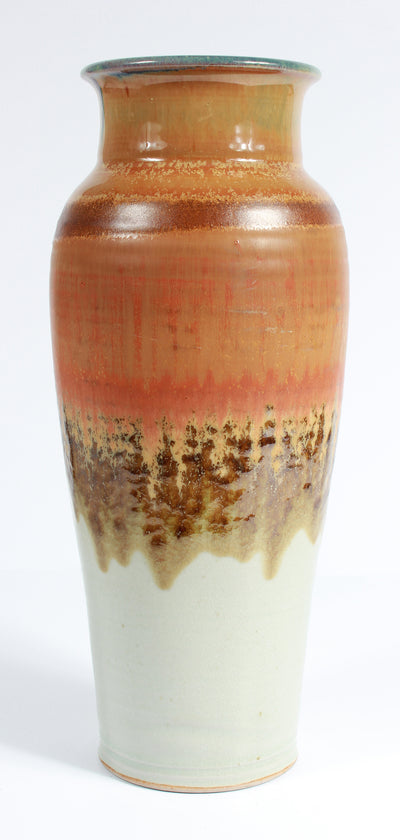 20th Century Stone Ground Ceramic with Tri-Color Pattern <br><br>#A7529