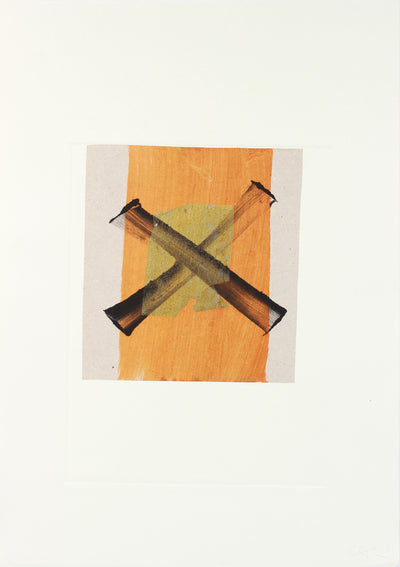 'X' Marks the Spot <br>20th Century Monotype <br><br>#A7631
