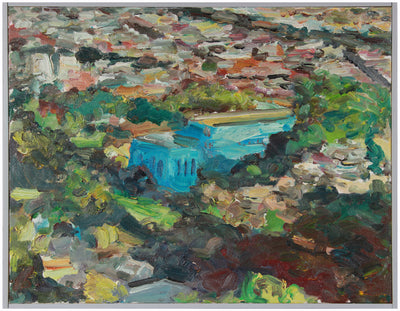 <i>Glen Park</i> <br>2004 Oil Landscape <br><br>#A8252