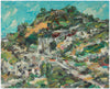 <i>Diamond Heights</i> <br>2001 Oil Abstract <br><br>#A8264