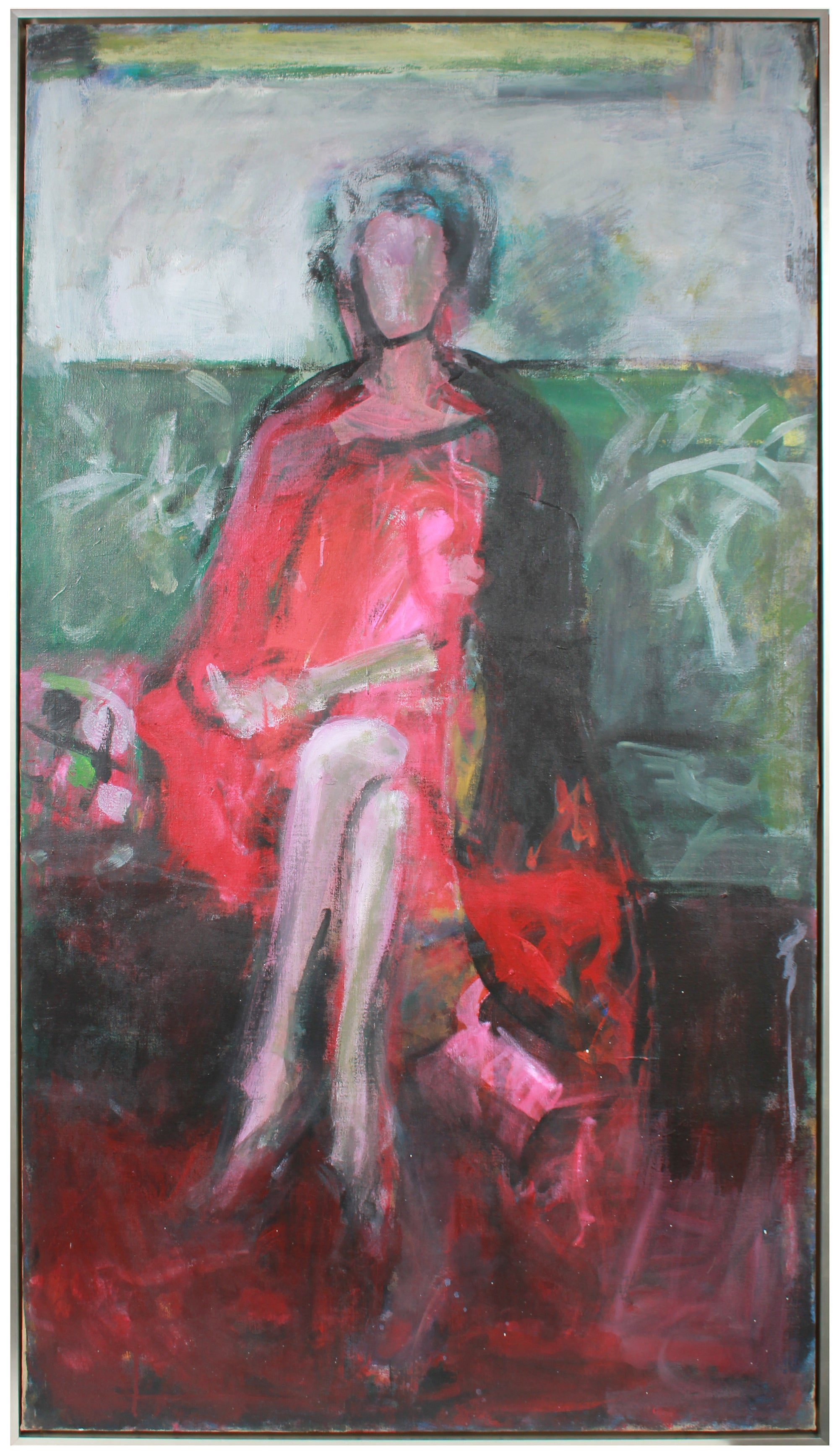 <I>Rosalind</I> Portrait of the Artist's Mother <br>1985 Oil <br><br>#A8838