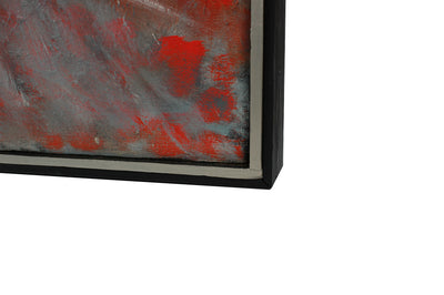 Modernist Large-Scale Abstract <br>1981 Oil <br><br>#A8933