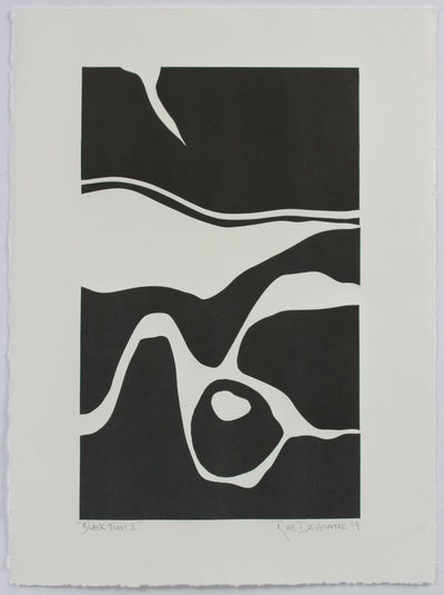 <i>Black Tides I</i> <br>2019 Monotype <br><br>#A8990