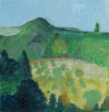 <i>The Orchard I</i>, Mendocino, CA <br>2019 Acrylic & Walnut Oil <br><br>#A9005