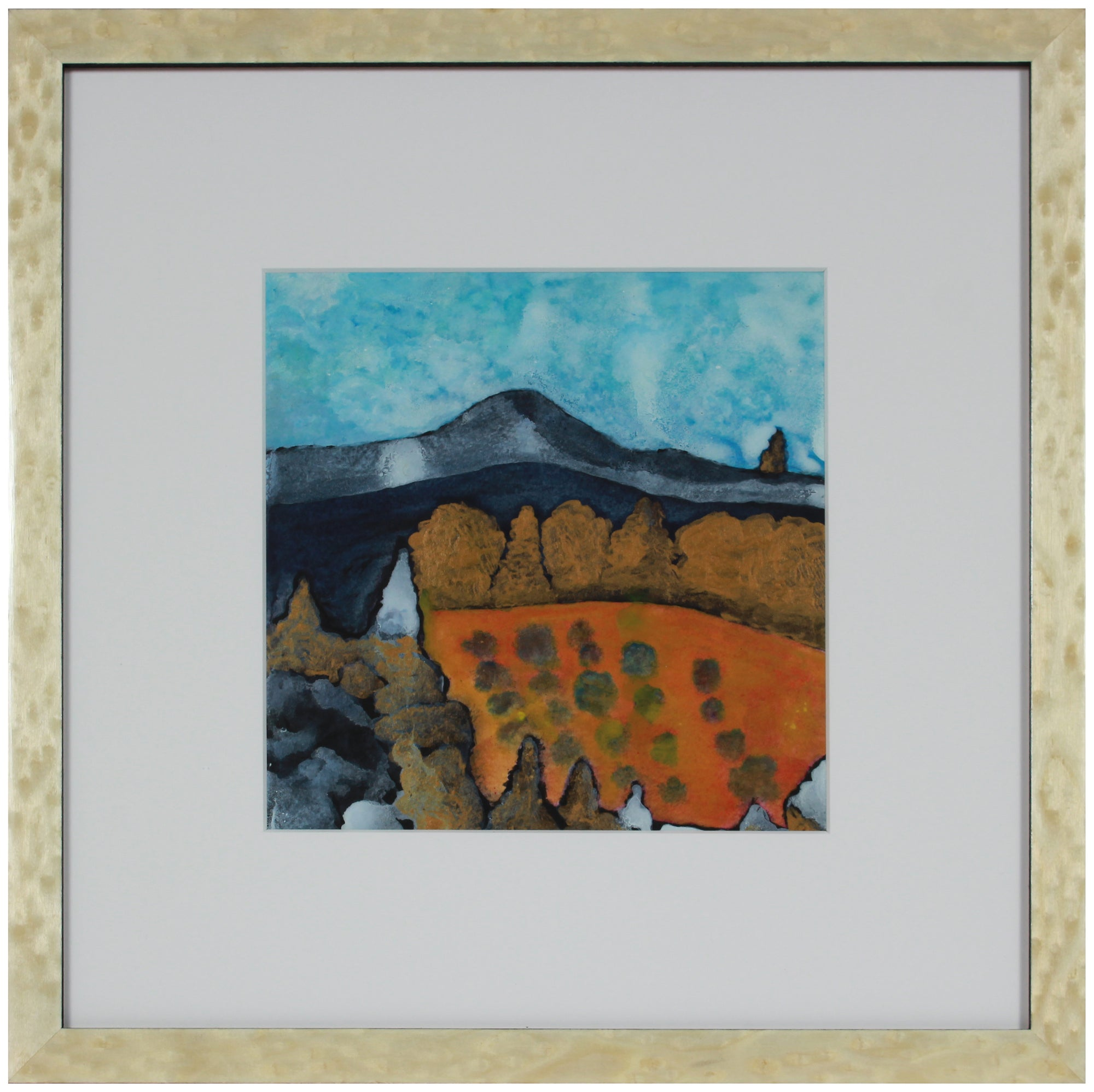 <i>The Orchard II</i>, Mendocino, CA <br>2019 Acrylic & Walnut Oil <br><br>#A9007