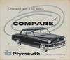 Original Vintage Plymouth Cars Advertising Drawing <br>1950-60s Gouache & Pastel <br><br>#A9012