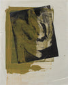 <i>Yellow Over Silkscreen</i> <br>1970 Mixed Media Print <br><br>#A9159