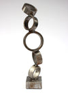 <i>Five Rings</i> <br>Welded Steel Sculpture <br><br>#A9175