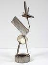 <i>Disks & Angles</i> <br>Welded Steel Sculpture <br><br>#A9200