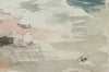 <i>Beach</i>, Westport, CT <br><br>1980s Watercolor <br><br>#A9470