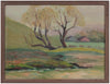 Impressionist Farm Scene <br>Early 20th Century Oil <br><br>#A9738