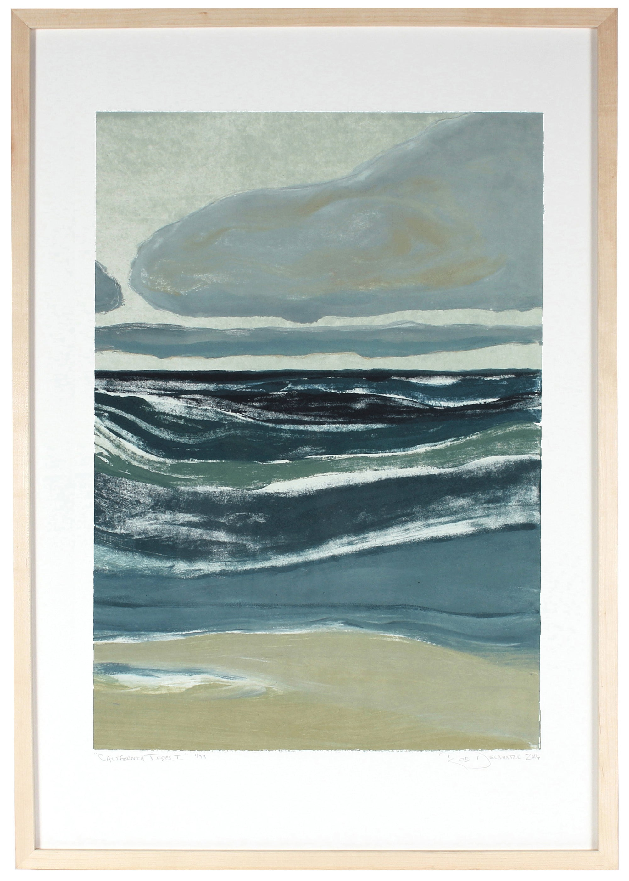 <i>California Tides II</i> <br>Limited Edition Archival Print <br><br>ART-07725