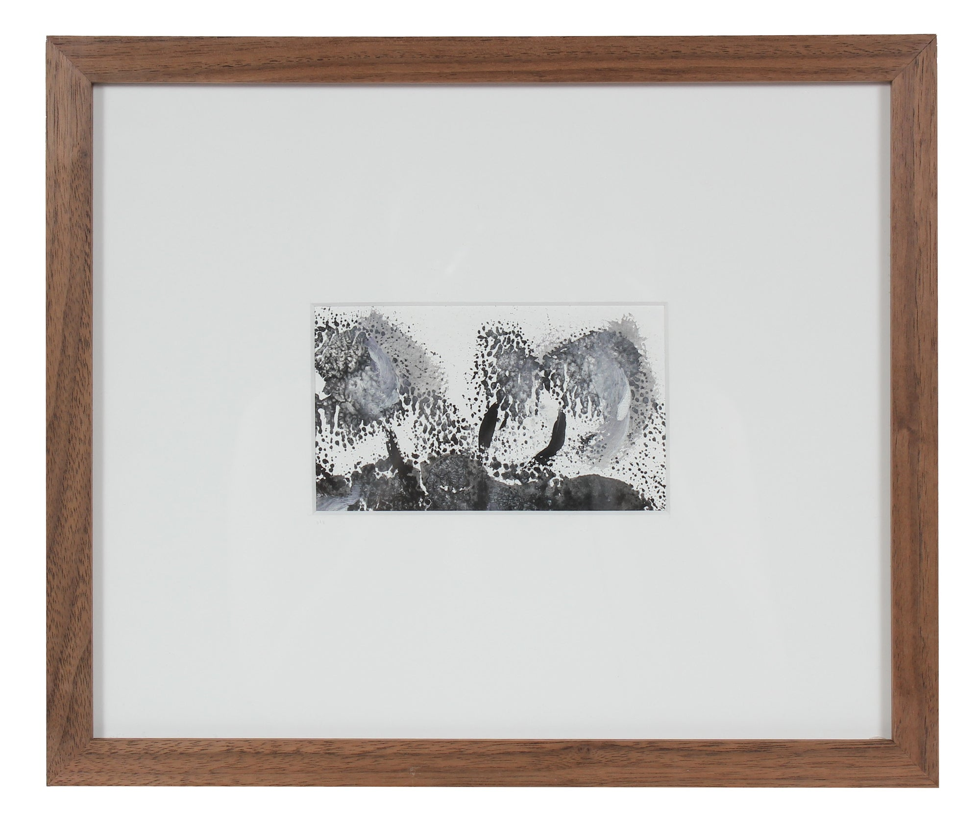 Vague Landscape Abstraction<br>Late 20th Century Monoprint<br><br>#84676