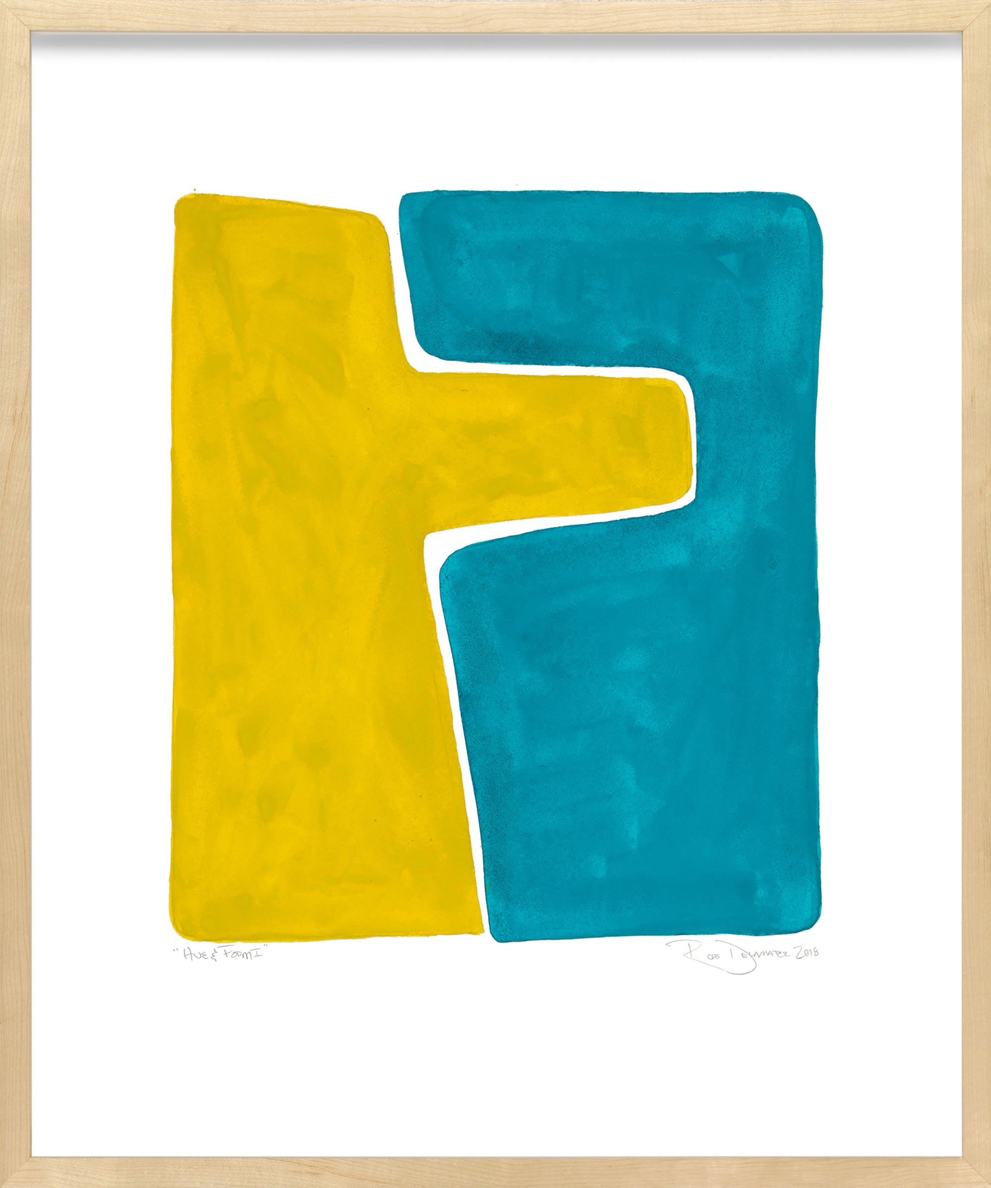 <i>Hue & Form I</i> <br>Limited Edition Archival Print <br><br>ART-13956