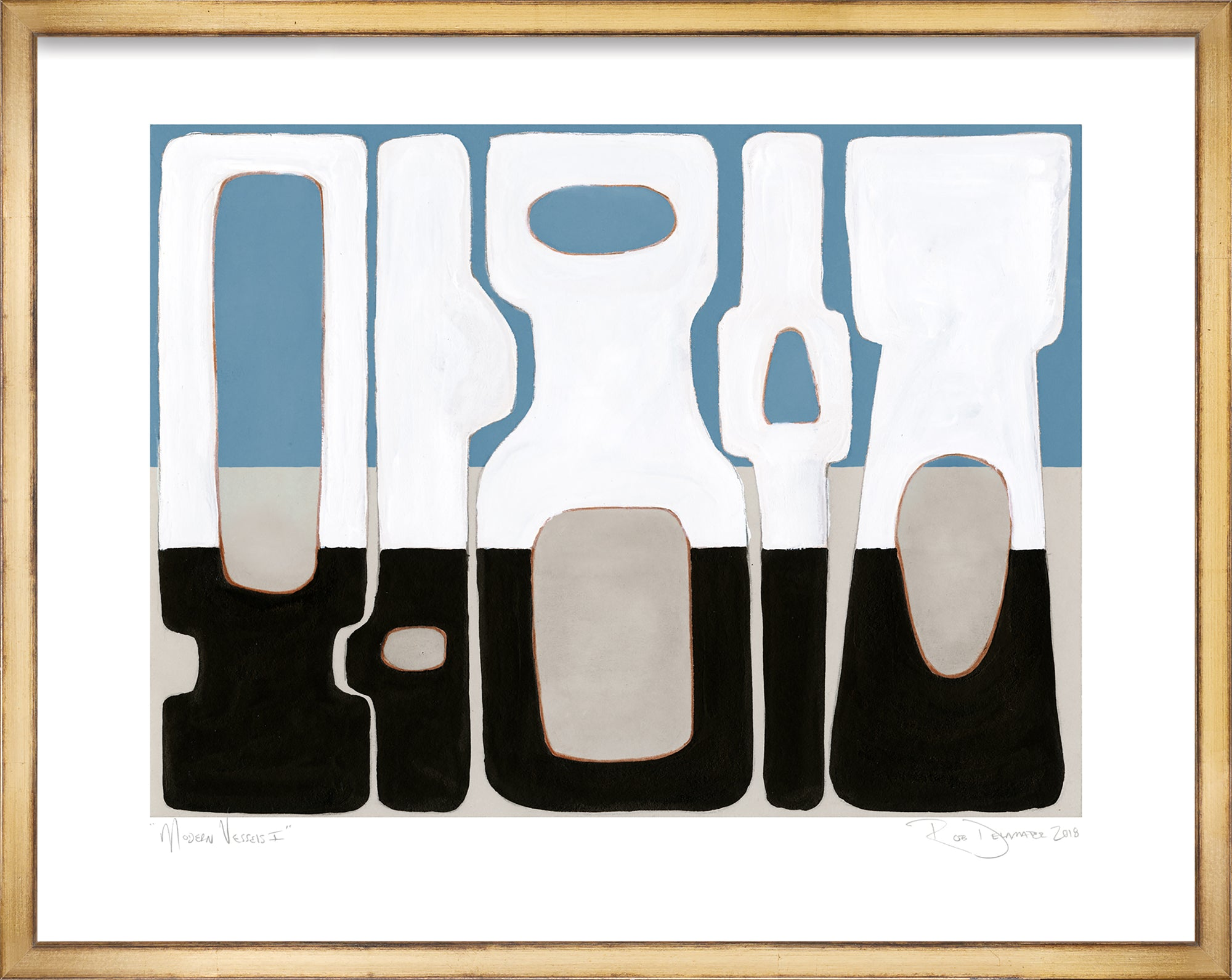 <i>Modern Vessels I</i> <br>Limited Edition Archival Print <br><br>ART-13961