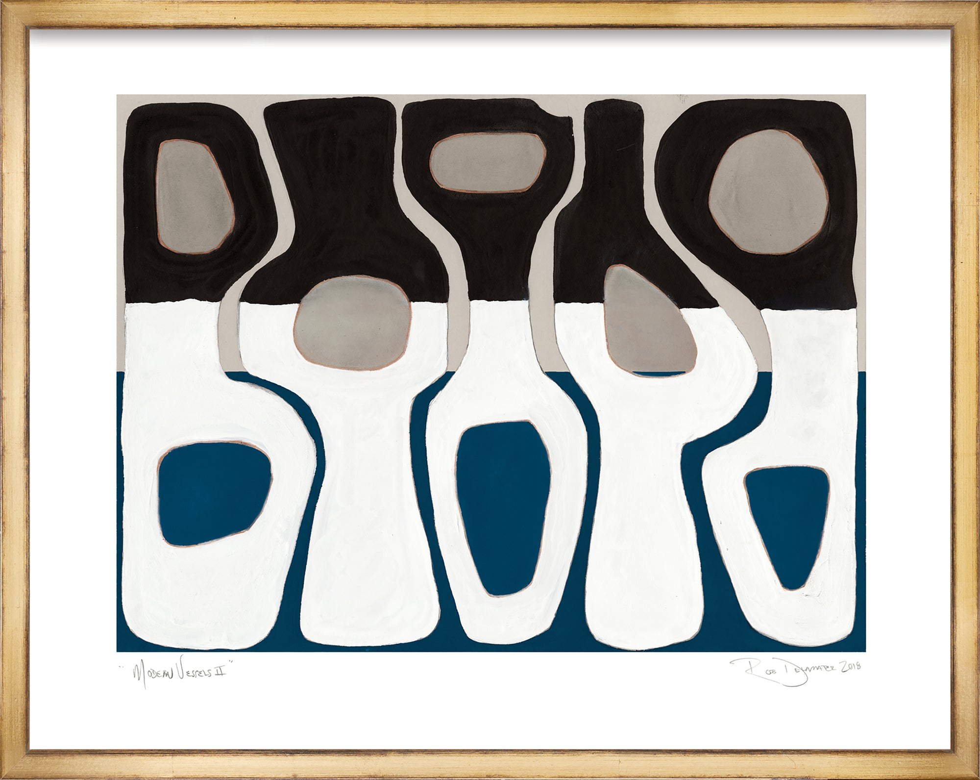 <i>Modern Vessels II</i> <br>Limited Edition Archival Print <br><br>ART-13962