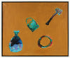 <i>Sunken Treasures</i> <br>20th Century Acrylic <br><br>#36943