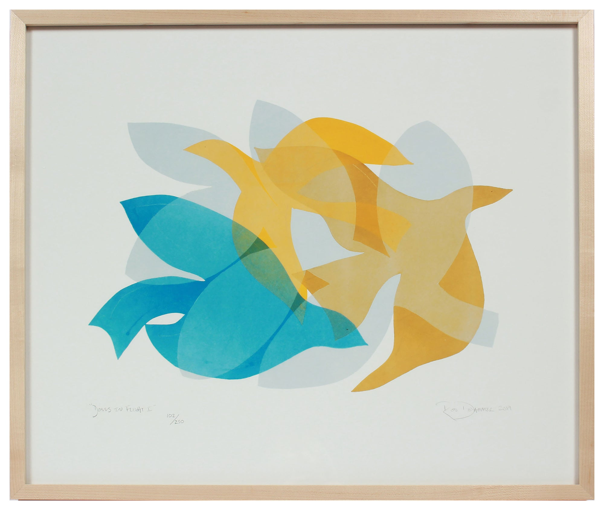 <i>Doves in Flight I</i> <br>Limited Edition Archival Print <br><br>ART-16828