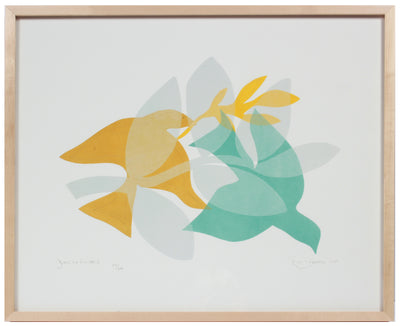 <i> Doves in Flight I & II</i> <br>Set of Two Limited Edition Archival Prints <br><br>ART-16826