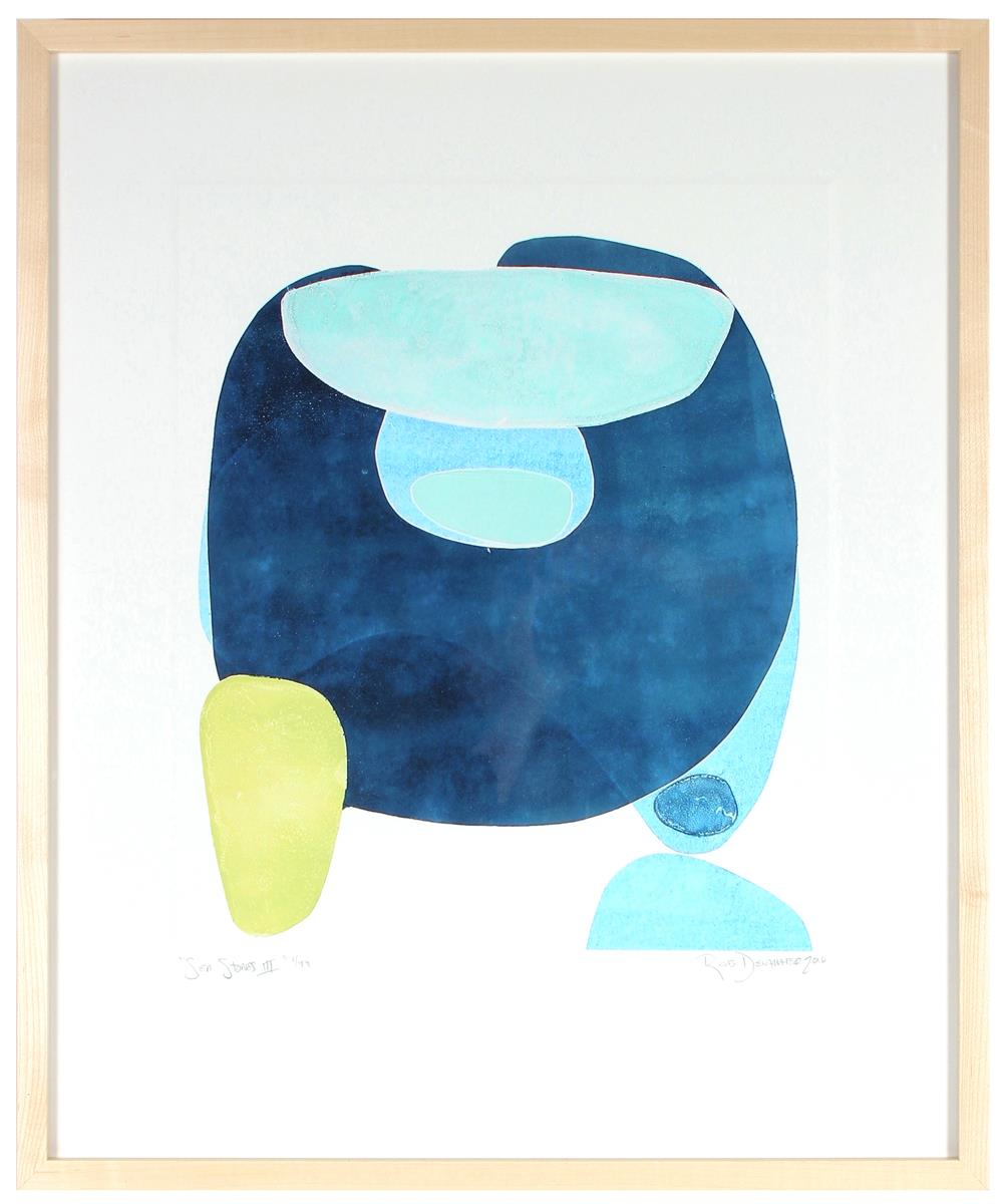 <i>Sea Stones III</i> <br>Limited Edition Archival Print <br><br>ART-08090