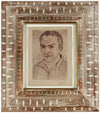 Self Portrait of the Artist<br>1920s Etching<br><br>#60103
