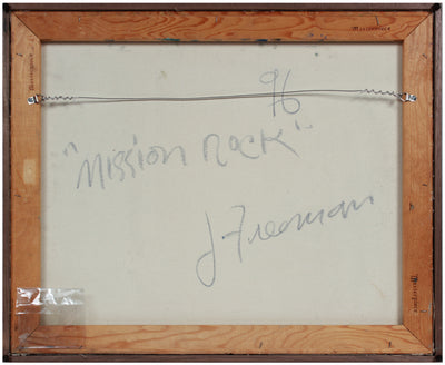 <i>Mission Rock</i> <br>1996 Oil <br><br>#B0006