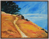 Abstracted Coastal Cliffs <br>2002 Oil <br><br>#B0012