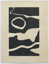 <i>Tides in Sepia II</i> <br>2019 Monotype & Coffee <br><br>#B0076