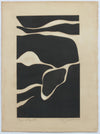 <i>Tides in Sepia III</i> <br>2019 Monotype & Coffee <br><br>#B0077
