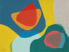 <i>Tideland I</i> <br>2019 Gouache Abstract <br><br>#B0083