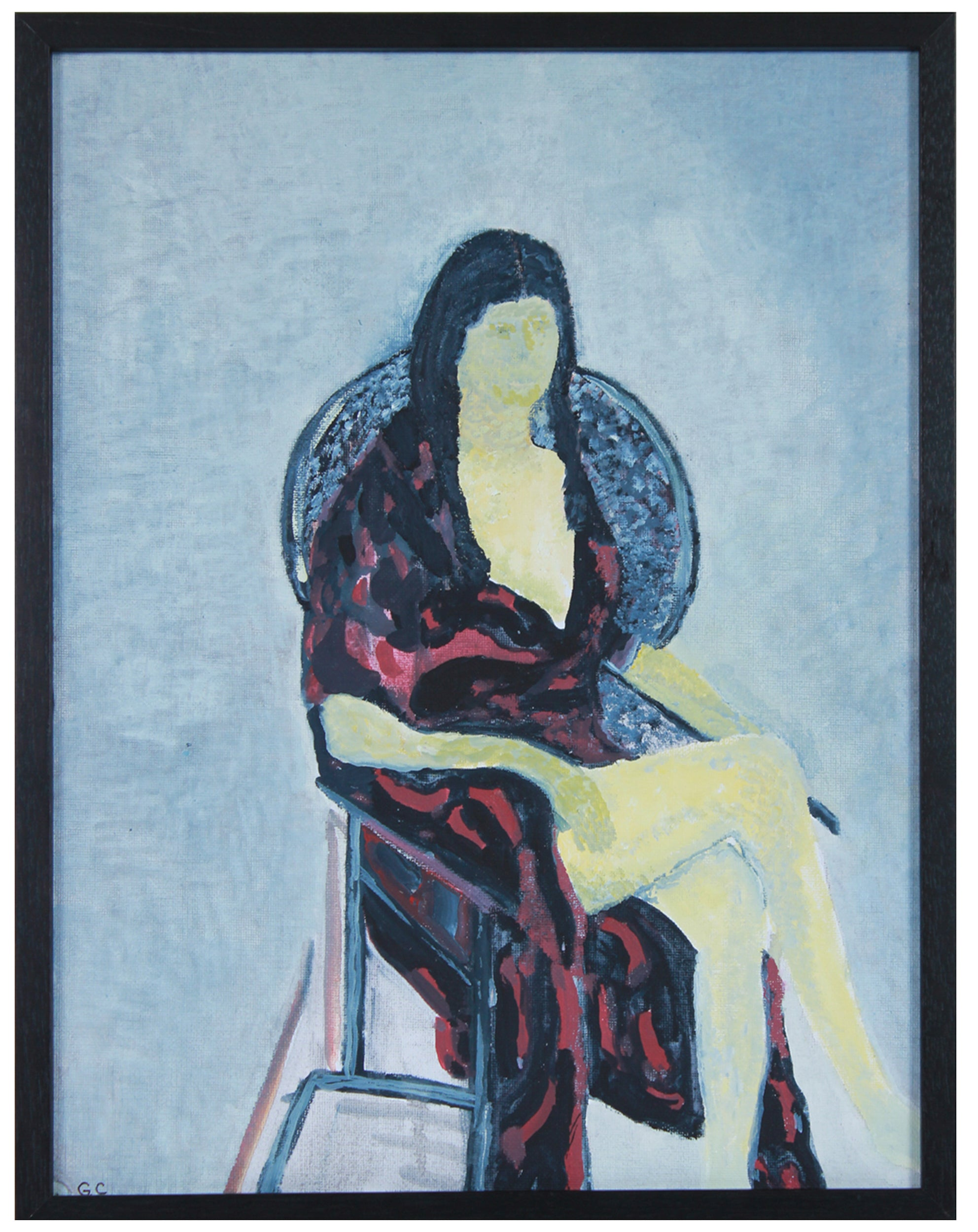 <i>Melina</i> <br>2020 Oil on Canvas Mounted to Board<br><br>#B1395