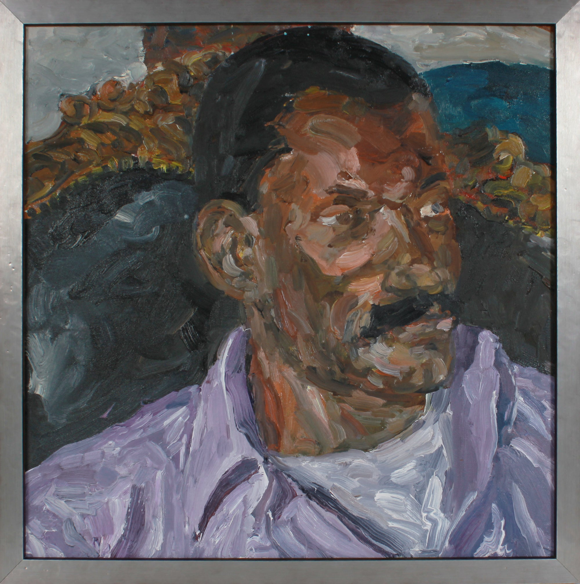 Portrait of a Man <br>2001 Oil <br><br>#B2908