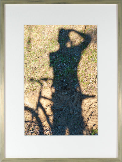 <I>À Vélo - auto portrait (Self-Portrait with Bicycle)</I><br>Mendocino, California, 2015<br><br>GC0397