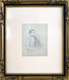 Study in Graphite<br>Earlu-Mid 1800s<br><br>#10105