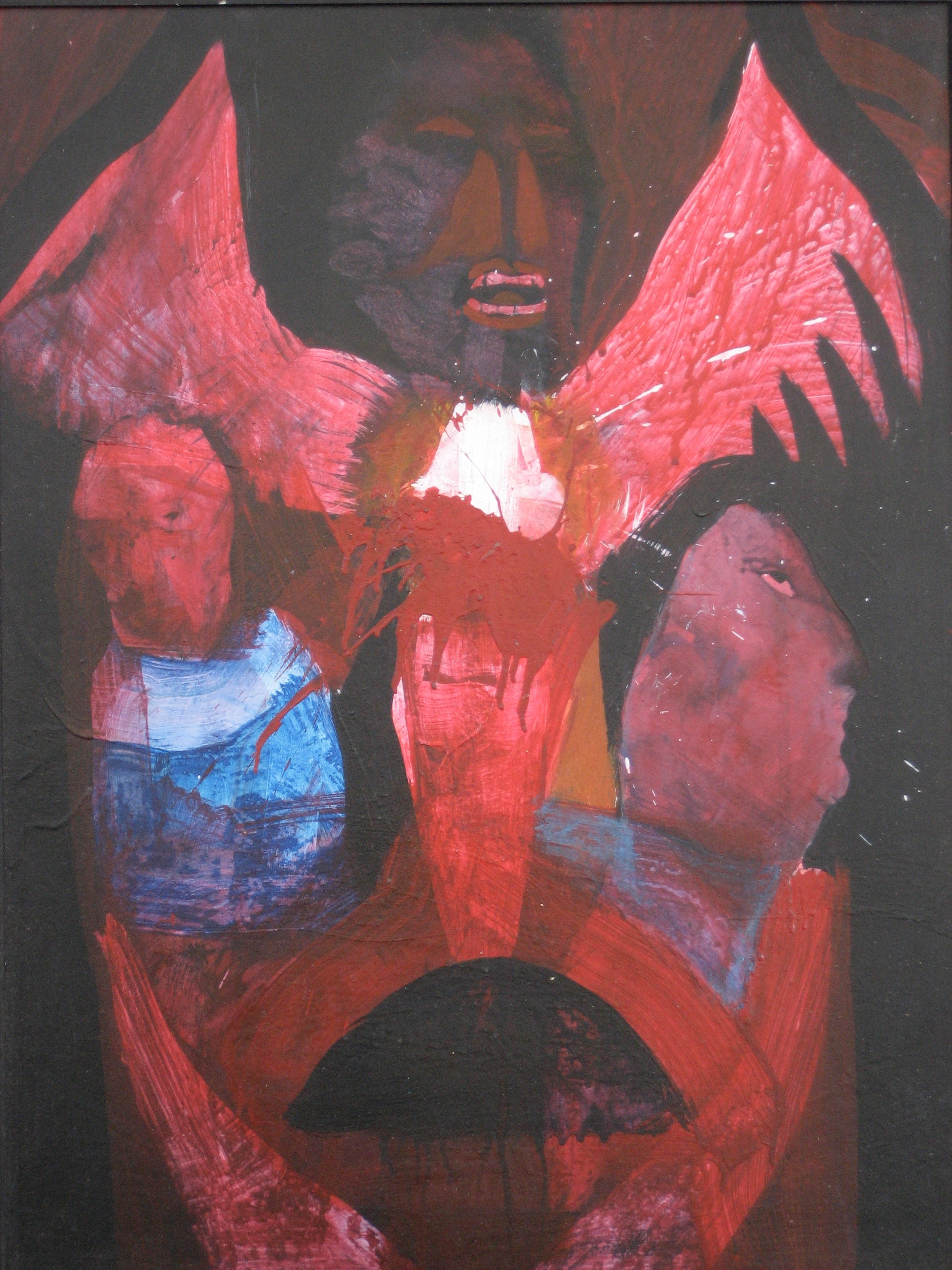 Totem Figures<br>Mixed Media, 1960s<br><br>#0421