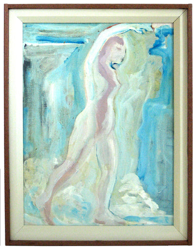 Bay Area Figurative Standiong Form<br>1978 Oil on Canvas<br><br>#12722