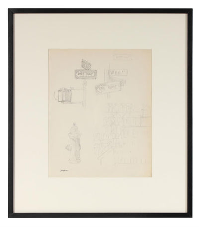 Upper West Side, New York Study<br>Mid Century Graphite<br><br>#72000