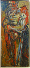 <i>Portrait of Kenneth #1</i> <br>1957 OIl <br><br>#13406