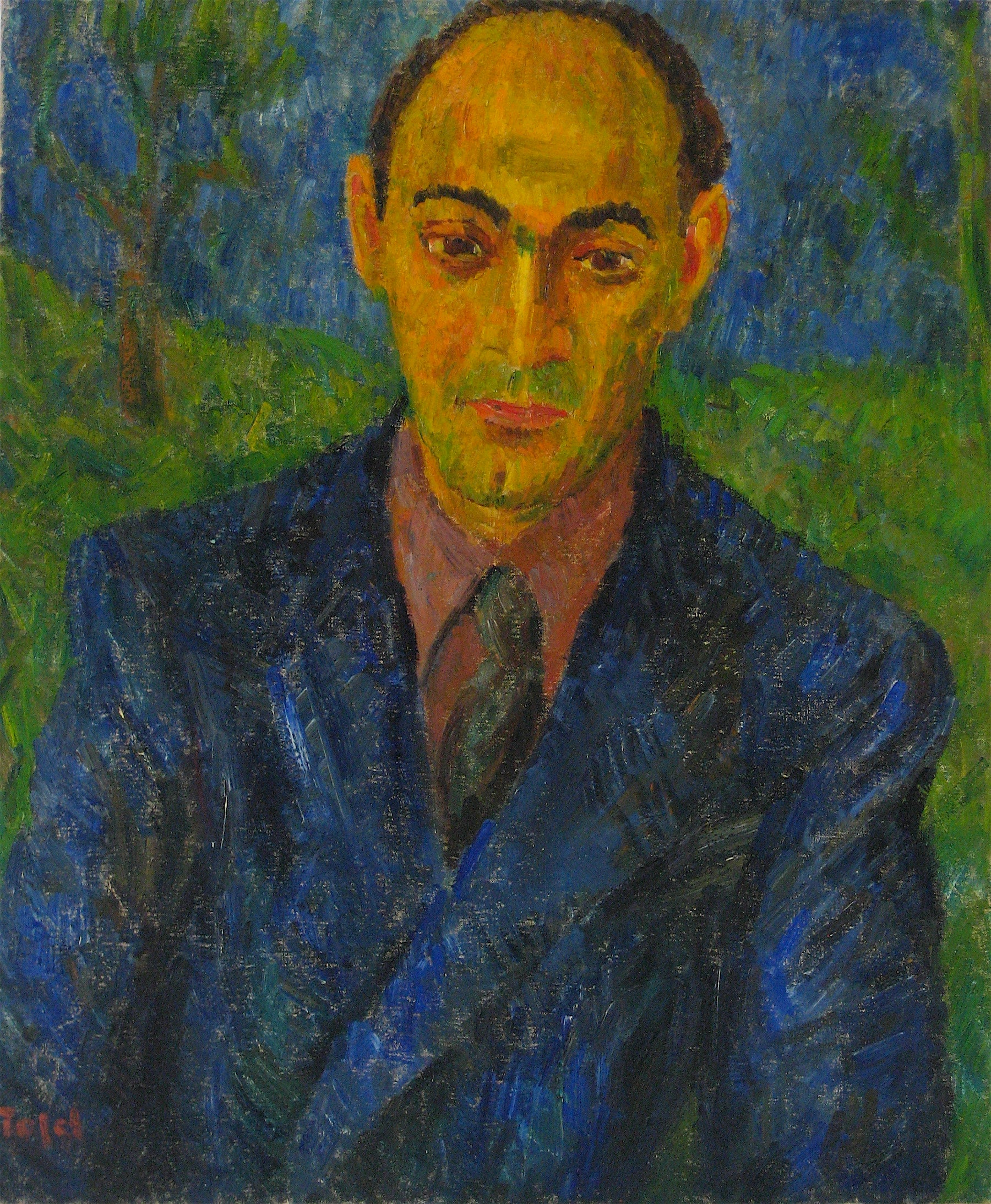 <i>Portrait of Arthur</i> <br>1946-49 Oil <br><br>#13950