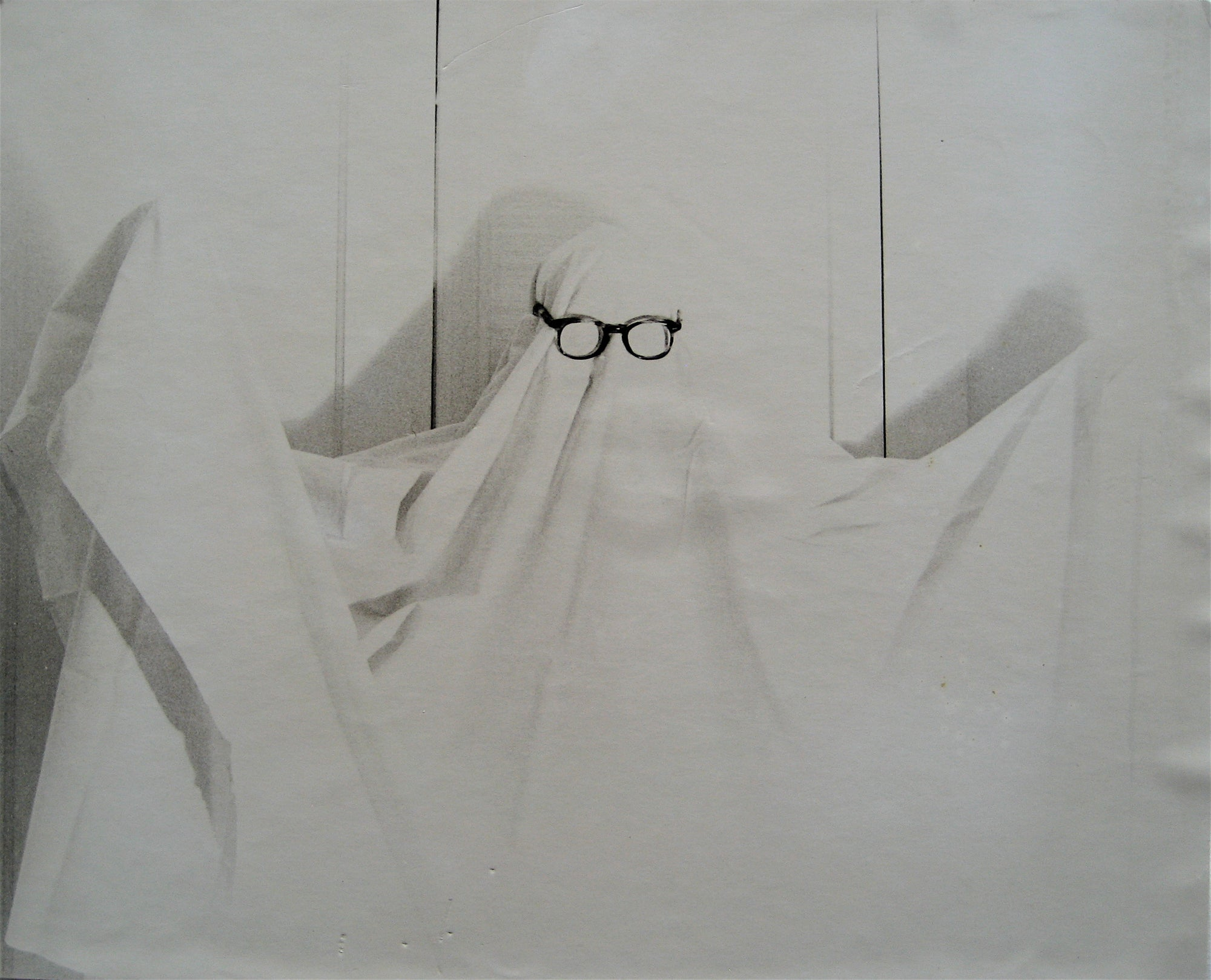 Ghost in Glasses<br>1960s Photograph <br><br>#16259