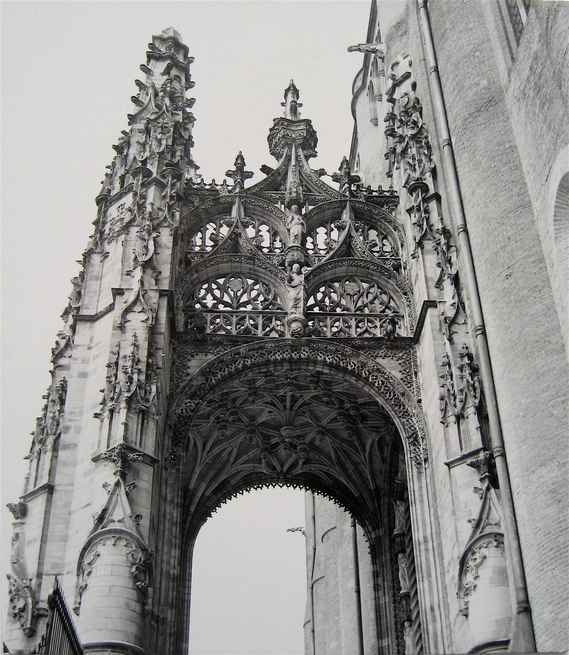 Architectural Archway  <br>1960s Photograph<br><br>#16271