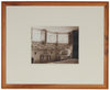 Mid 20th Century Sepia-Toned Interior Scene Photograph<br><br>#4196