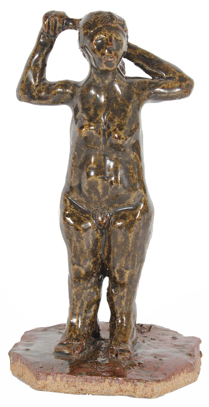 Standing Female Nude<br>Clay, 2001<br><br>#20288