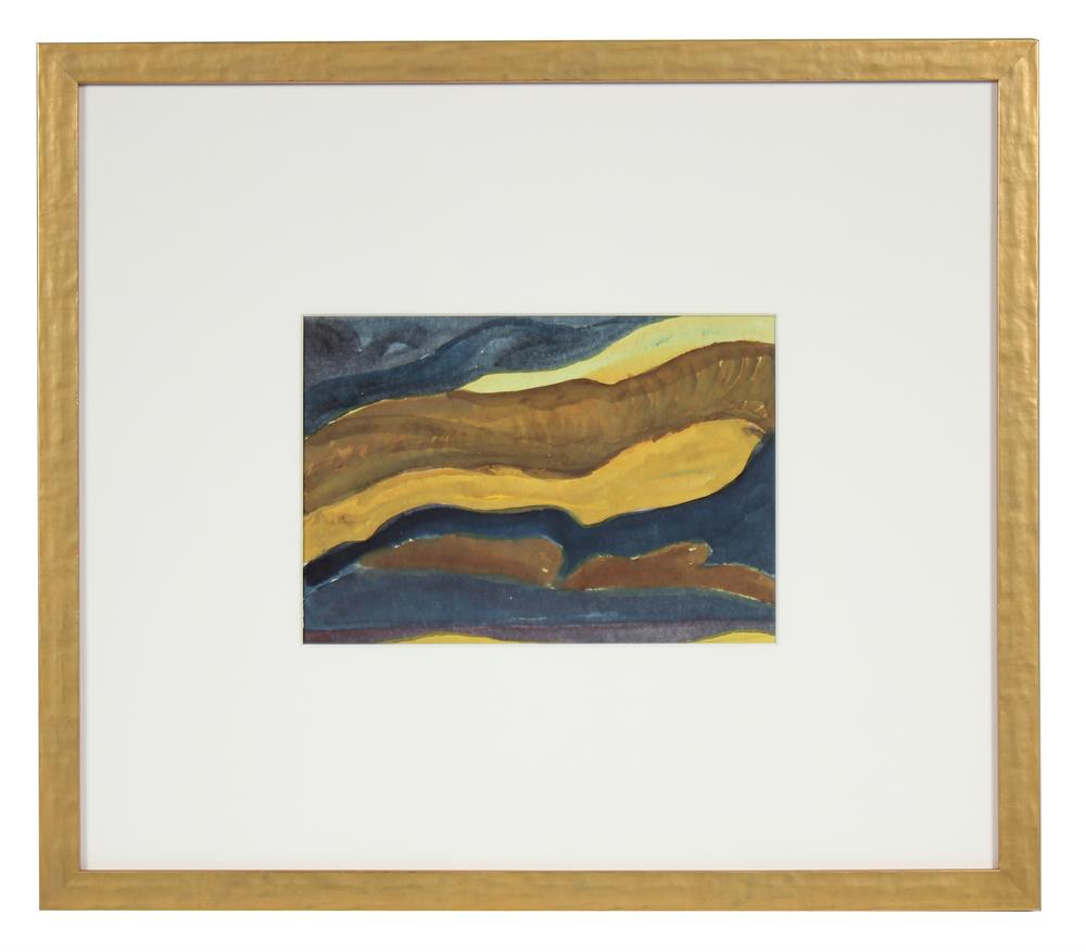 <i>With Homage to Arthur Dove</i><br>1980 Gouache<br><br>#66850